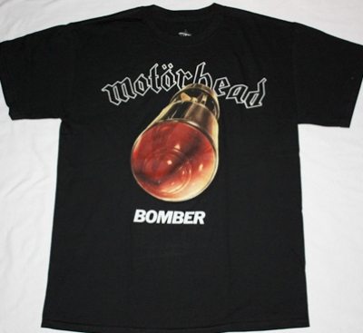 MOTORHEAD BOMBER'79 NEW BLACK T-SHIRT