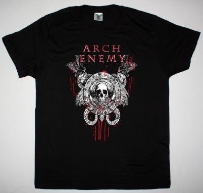 ARCH ENEMY REVOLUTION BEGINS 2 NEW BLACK T-SHIRT