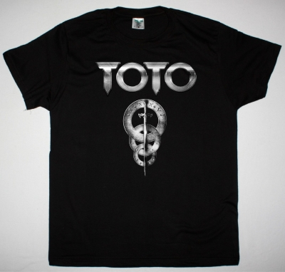 TOTO LOGO NEW BLACK T-SHIRT