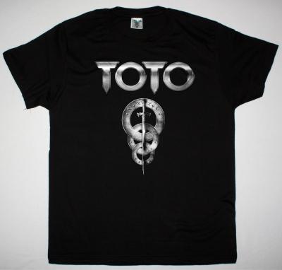 TOTO LOGO NEW BLACK T-SHIRT