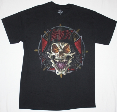 SLAYER US TOUR 07  NEW BLACK T-SHIRT