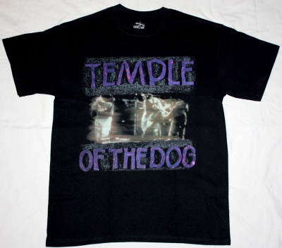 TEMPLE OF THE DOG '91  NEW BLACK T-SHIRT