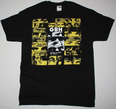 GBH MIDNIGHT MADNESS AND BEYOND NEW BLACK T SHIRT