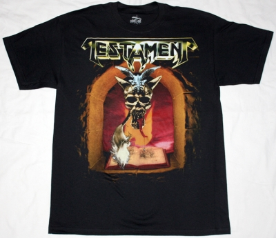 TESTAMENT THE LEGACY '87 NEW BLACK T-SHIRT