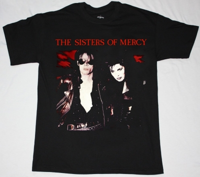 SISTERS OF MERCY THIS CORROSION'87 S-XXL NEW BLACK T-SHIRT