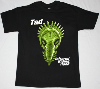 TAD INFRARED RIDING HOOD 1995 NEW BLACK T-SHIRT