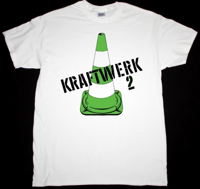 KRAFTWERK-2 1972 NEW WHITE T-SHIRT