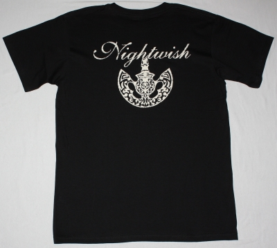 NIGHTWISH THE ISLANDER NEW BLACK T-SHIRT