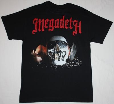 MEGADETH KILLING IS MY BUSINESS'85  NEW BLACK T-SHIRT
