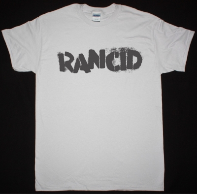 RANCID LOGO NEW ICE GREY T-SHIRT