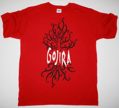GOJIRA THE LINK ALIVE NEW RED T SHIRT