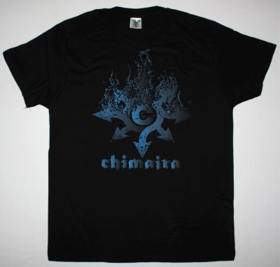CHIMAIRA LOGO NEW BLACK T-SHIRT