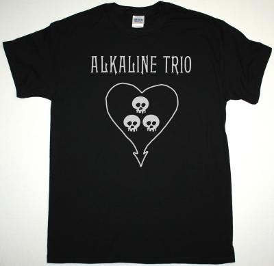 ALKALINE TRIO LOGO NEW BLACK T-SHIRT