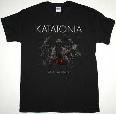 KATATONIA NIGHT IS THE NEW DAY NEW BLACK T-SHIRT