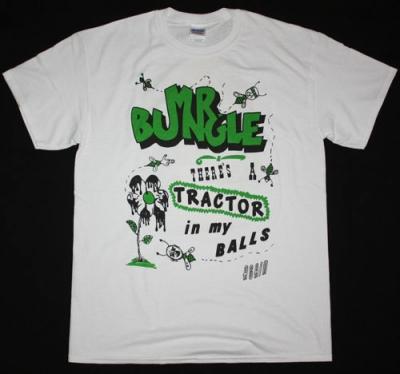 MR BUNGLE TRACTOR BALLS NEW WHITE T-SHIRT