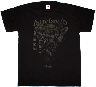 HATEBREED GIVE WINGS TO MY TRIUMPH NEW BLACK T-SHIRT