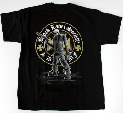 BLACK LABEL SOCIETY LOGO NEW BLACK T-SHIRT