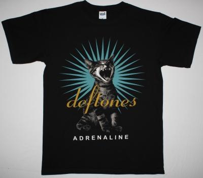 DEFTONES ADRENALINE 95 NEW BLACK T-SHIRT