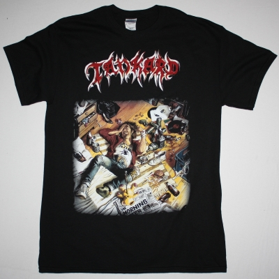 TANKARD THE MORNING AFTER 88 NEW BLACK T-SHIRT