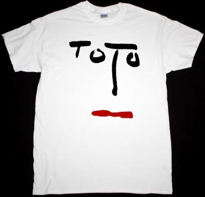 TOTO TURN BACK 1981 NEW WHITE T-SHIRT