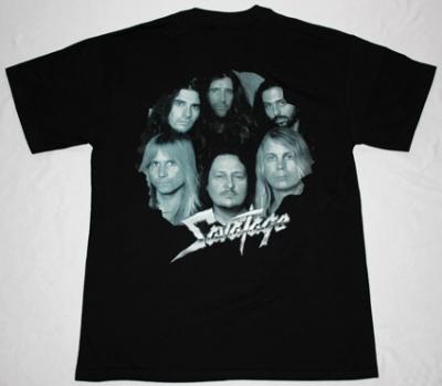 SAVATAGE DEAD WINTER DEAD'95 NEW BLACK T-SHIRT