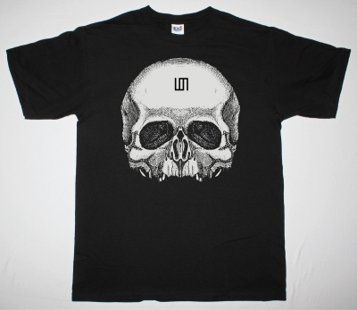 30 SECONDS TO MARS SKULL NEW BLACK T-SHIRT