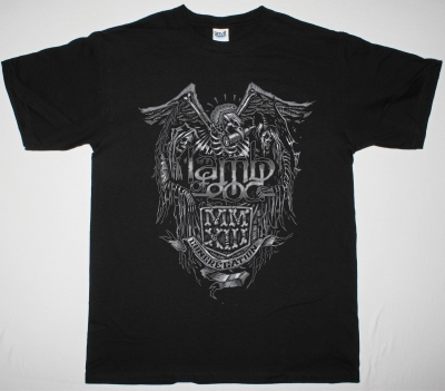 LAMB OF GOD CONGREGATION NEW BLACK T-SHIRT