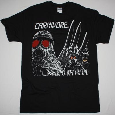 CARNIVORE RETALIATION NEW BLACK T-SHIRT