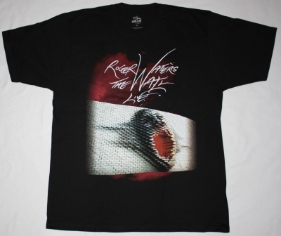 ROGER WATERS THE WALL TOUR EUROPE NEW BLACK T-SHIRT