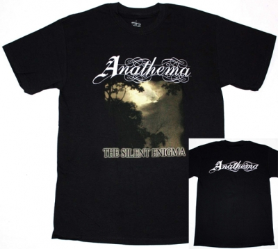 ANATHEMA THE SILENT ENIGMA '95 NEW BLACK T-SHIRT