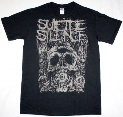 SUICIDE SILENCE CYCLOPS NEW BLACK T-SHIRT