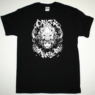 CANCER BATS THE BEAR NEW BLACK T-SHIRT