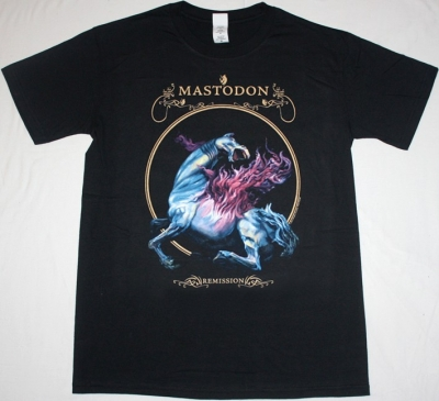 MASTODON REMISSION'02 NEW BLACK T-SHIRT
