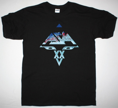 ASIA XXV NEW BLACK T-SHIRT