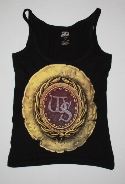 WHITESNAKE 1987 NEW VERY RARE BLACK WOMAN'S VEST TANK TOP