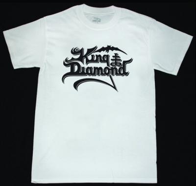 KING DIAMOND LOGO NEW WHITE T-SHIRT