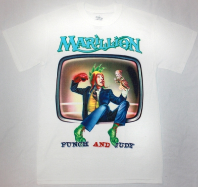 MARILLION PUNCH AND JUDY'84 NEW WHITE T-SHIRT