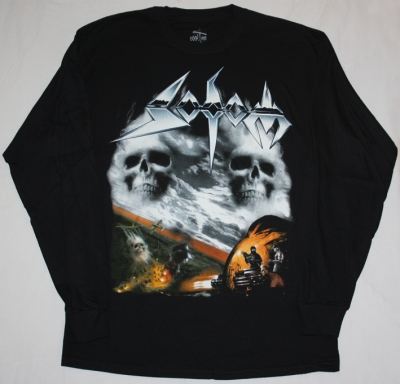 SODOM AGENT ORANGE 1989 NEW LONG SLEEVE BLACK T-SHIRT