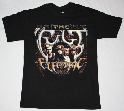 THE CULT ELECTRIC'87 NEW BLACK T-SHIRT