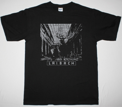 LAIBACH NOVA AKROPOLA 1986 NEW BLACK T-SHIRT