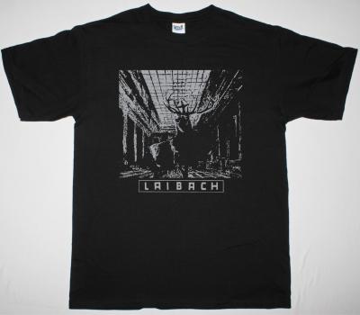 LAIBACH NOVA AKROPOLA 1986 NEW BLACK T-SHIRT