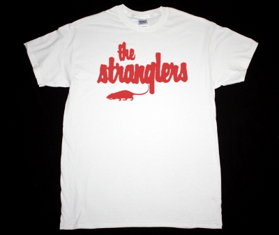 THE STRANGLERS LOGO NEW WHITE T-SHIRT