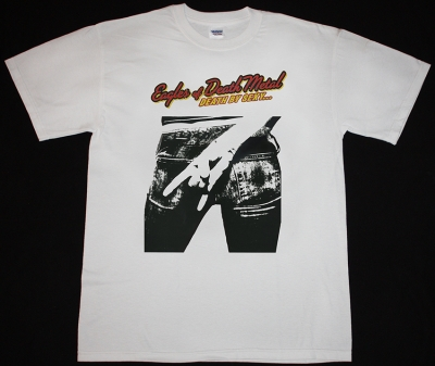 EAGLES OF DEATH METAL DEATH BY SEXY NEW WHITE T-SHIRT