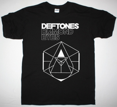 DEFTONES DIAMOND EYES LOGO NEW BLACK T-SHIRT