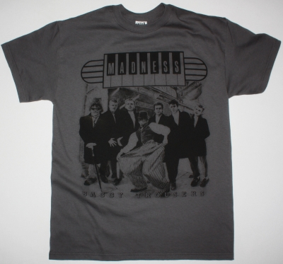 MADNESS BAGGY TROUSERS VINTAGE  GREY T-SHIRT