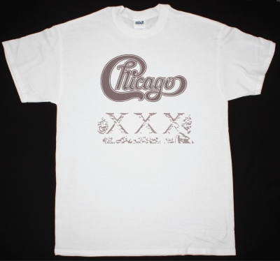CHICAGO XXX NEW WHITE T-SHIRT