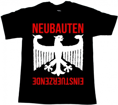 EINSTÜRZENDE NEUBAUTEN RICHTERSKALA'87 NEW BLACK T-SHIRT
