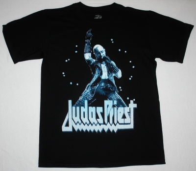 JUDAS PRIEST ROB HALFORD BLACK NEW T-SHIRT