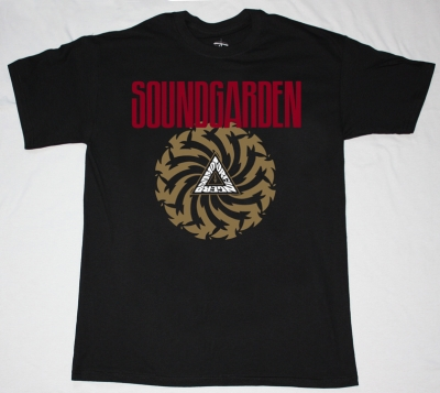 SOUNDGARDEN BADMOTORFINGER'92  NEW BLACK T-SHIRT
