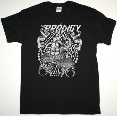 THE PRODIGY SNAKE NEW BLACK T SHIRT